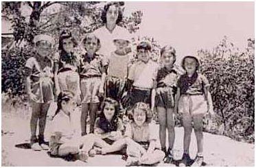 Enfants du Gush Etsion. 1947