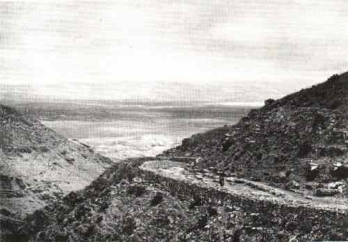 route vers jericho 1869