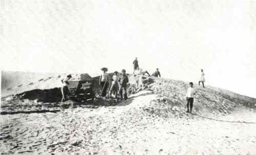 1909 Travaus de terrassement de la future rue Allenby - TEL AVIV