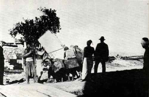 haifa technion installation equipement 1913
