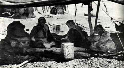 marais de kabara campement bedouins 1925